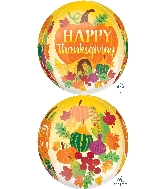"16"" Jumbo Thanksgiving Harvest Balloon"