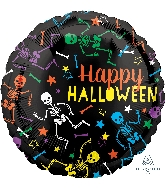 "18"" Junior Shape Playful Skeletons Balloon"