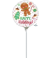 "9"" Airfill Only Holiday Cookies Balloon"