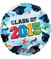 "18"" Class of 2015 Grad Spirit Clouds"