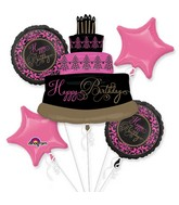 Birthday Fabulous Celebration Bouquet of Balloons
