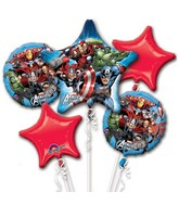 Avengers Assemble Bouquet of Balloons