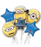 Despicable Me Bouquet of Balloons