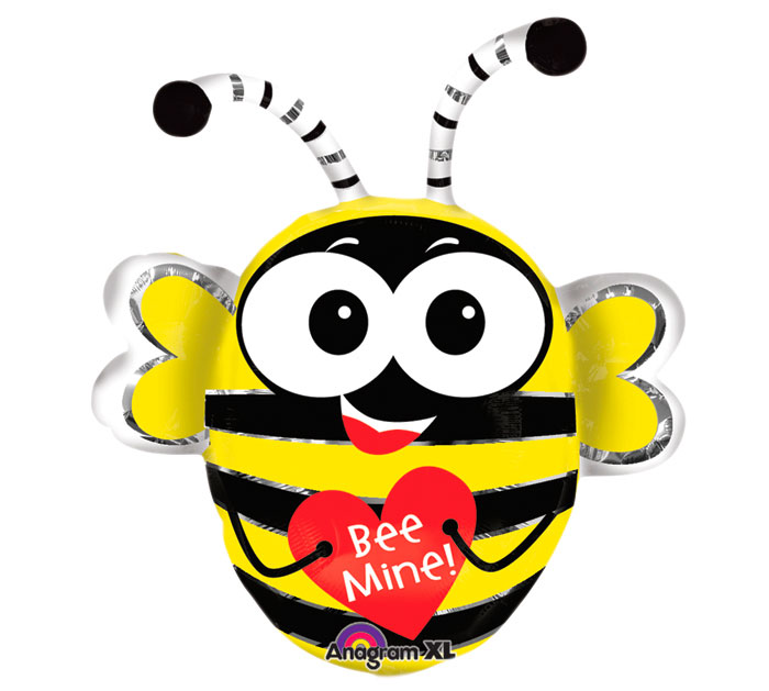 "29"" SuperShape Buzz&#39n Bee Balloon"