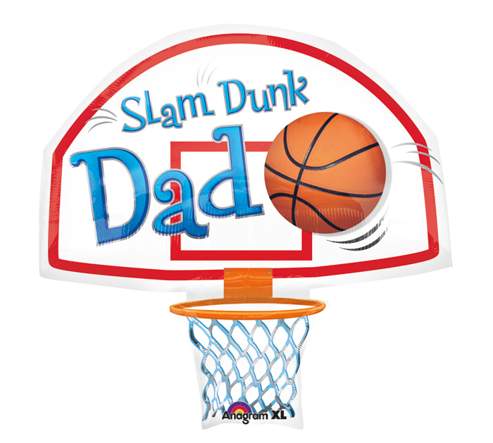 Large Shape Slam Dunk Dad