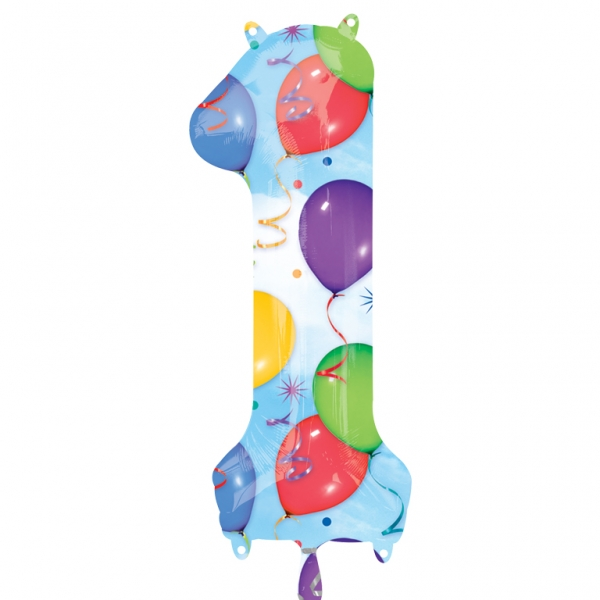 "34"" SuperShape 1 Balloons & Streamers Balloon Packaged"