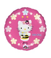 "9"" Mini Balloon (Airfill Only) Hello Kitty Bee"