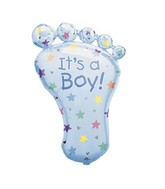 "36"" It's a Boy Foot Mylar Balloon"