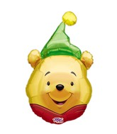 (Airfill Only) Winnie the Pooh Balloon Party Hat