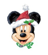 "27"" SuperShape MICKEY Christmas Balloon"
