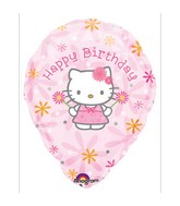 "18"" Hello Kitty Happy Birthday Personalize"