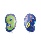 "21"" Junior Shape 9 Multi-Color Balloon"