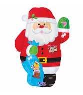 Junior Shape Santa Balloon Packaged