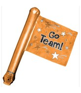 "26"" Orange Rally Flag (airfill-self sealing) B541"