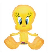 (Airfill Only) Tweety Balloon Full Body Shape