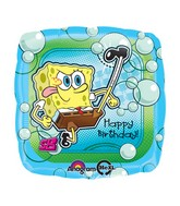 "18"" Spongebob Balloon Kick&#39n Birthday"