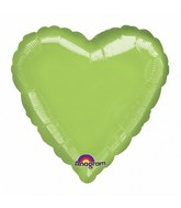 "32"" Large Balloon Lime Heart"