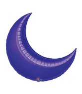 "9"" Airfill Only Mini Purple Crescent Balloon"