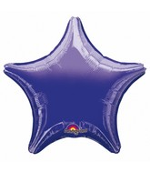 "4"" Airfill Only Star Purple Star Balloon"