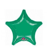 "32"" Large Balloon Green Star"