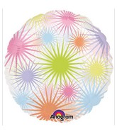"18"" Bursts Pastel Balloon"