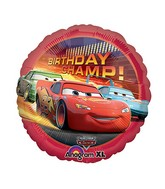 "18"" Disney Cars Movie Birthday Champ"