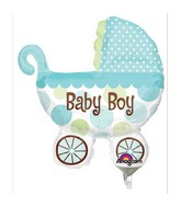 Airfill Only Baby Buggy Boy Mini Shape