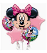 Minnie Mouse Birthday Bouquet