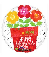 "18""  For All That You Do Mom Flower Pot"