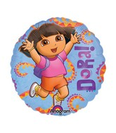 "9"" Mini Balloon (Airfill Only) Hola Dora"