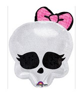 "18"" Monster High Holographic Skullette Badge"