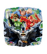 "18"" Justice League Mylar Party Balloon (DISC)"