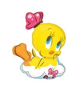 "33"" Looney Tunes Tweety Butterfly Balloon"