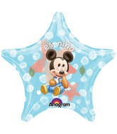 "22"" Mickey Mouse Es Nino Star"