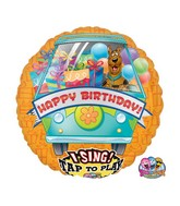"28"" Sing-A-Tune Scooby Happy Birthday"