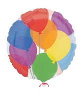 "18"" Colorful Balloons"