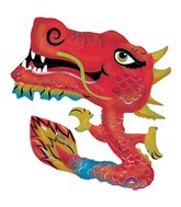 "40"" Chinese Dragon Jumbo Mylar Balloon"