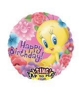 "28"" Sing-A-Tune Tweety Happy Birthday"