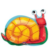 "22"" SuperShape Snail Balloon Packaged"