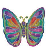 "25"" Butterfly Sparkles Balloon"