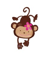 "40"" Monkey Love Balloon"
