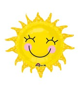 "29"" Smiling Sunshine Sun Balloon"