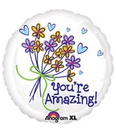 "18"" You&#39re Amazing Bouquet Balloon"