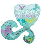 "29"" Wedding Shower Butterflies SuperShape"