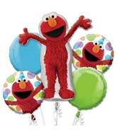 Elmo Style Birthday 5-piece Bouquet