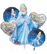 Disney Princess Cinderella Balloon Bouquet