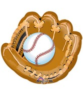 "31"" Baseball And Glove Shape Balloon"