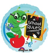 "18"" School Rules Balloon"