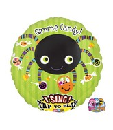 "28"" Jumbo Sing-A-Tune Gimme Candy Spider Packaged"