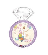 "27"" Shower Chic Bridal Ring Shape Balloon"